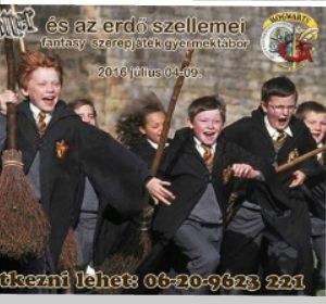 Harry Potter gyerektábor